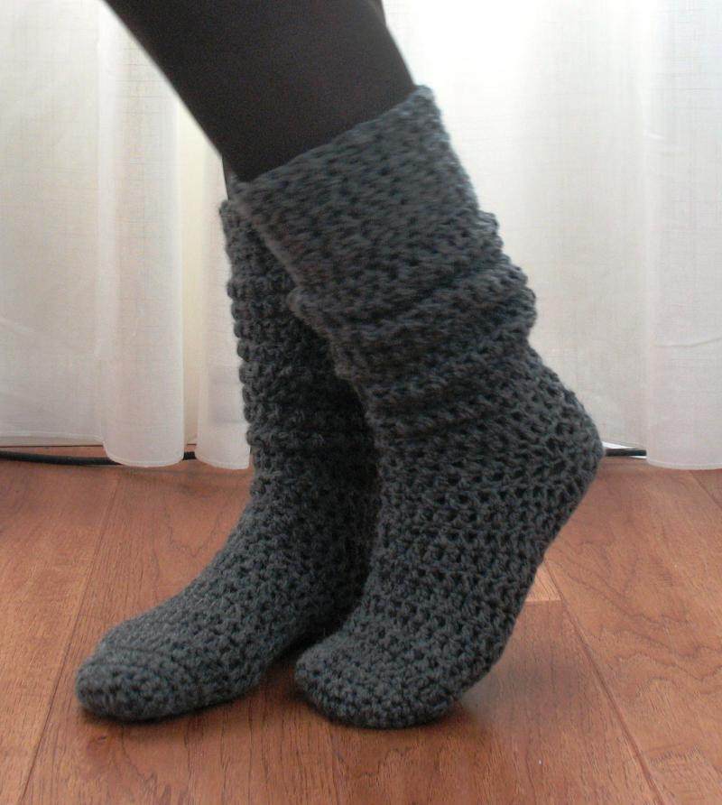 Knee High Boot Socks